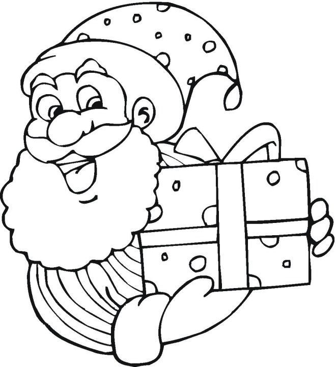 free christmas coloring pages - Coloring Pages Christmas Stuff