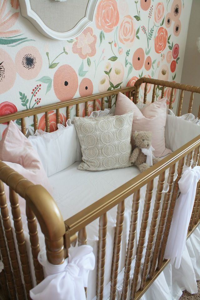 A Fanciful Floral Oasis For Baby Girl/Fawn Over Baby