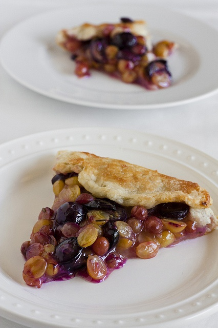 Grape and Lavender Galette >> whoa that looks so interesting!!!