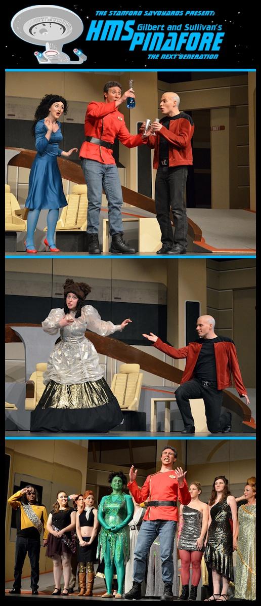 Star Trek-HMS Pinafore, The Next Gen in Theater | JonInCharacter.com - - - - ARE YOU STINKIN' KIDDING??O.O