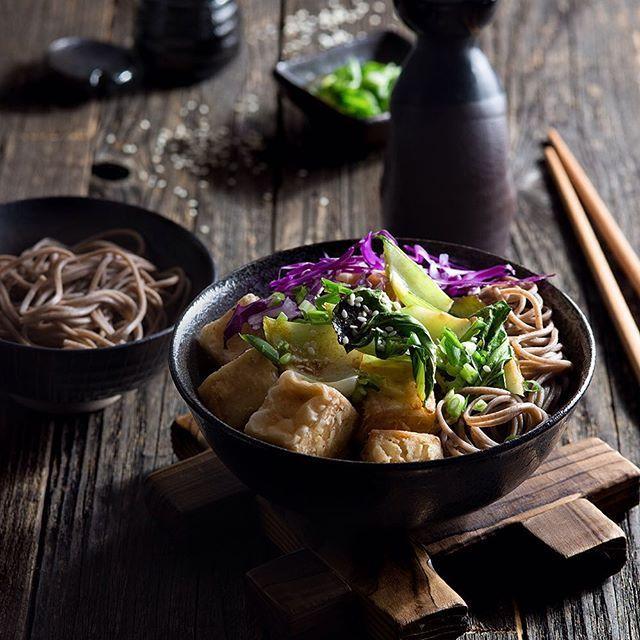 Tofu Noodle Bowl With Ginger Glazed Bok Choy  via @feedfeed on https://thefeedfeed.com/thespicetrain/tofu-noodle-bowl-with-ginger-glazed-bok-choy
