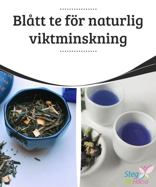 Blått te för naturlig #viktminskning  Blått te är mycket #populärt i dagsläget. Det är även #känt som oolong-te eller svart drakte och har i flera studier visat sig hjälpa till med naturlig viktminskning. #Smaken är en blandning av grönt och rött te, och är ett rent #nöje för sinnena och hälsan.