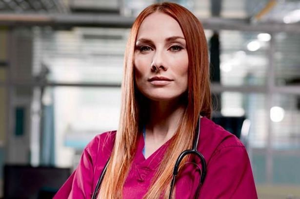 Rosie Marcel as the irritating Dr Jac Naylor... we love her though! (Pic: BBC)
