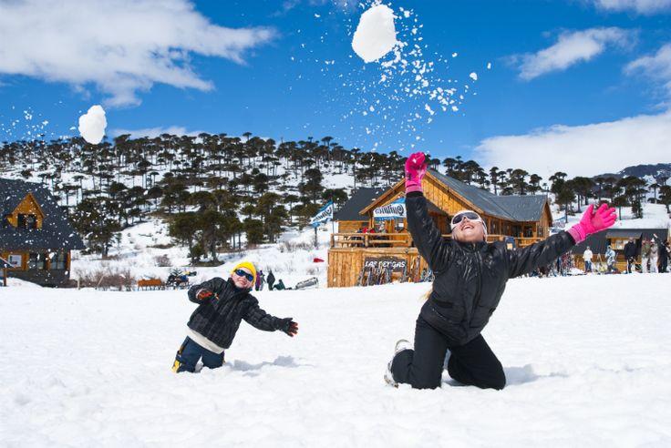 #Caviahue   En la nieve más vivo que nunca. Más info en www.facebook.com/viajaportupais