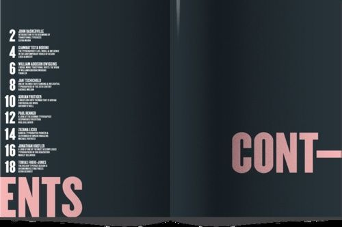(via #tableofcontents editorial design | Editorial Design | Pinterest):