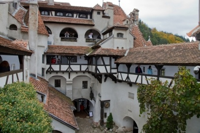 Bran Castle. Dracula's Castle in Brasov County, Romania.