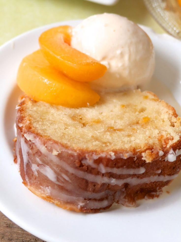 Southern Peach Pound Cake | Divas Can Cook
