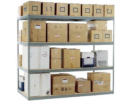 """Boltless Shelving Starter - 72""""W x 30""""D - 1000# shelf cap. by Western Pacific. $129.34. These 6' wide long-span boltless shelving starter units are designed with side supports on both ends of the shelf unit. They can be used as self supported and free standing or in conjunction with add-on units to create continuous rows of interconnected shelving units. Starter units are needed as the initial freestanding unit to which add-on units connect to. - - WOOD DECKS ARE NOT INC..."""