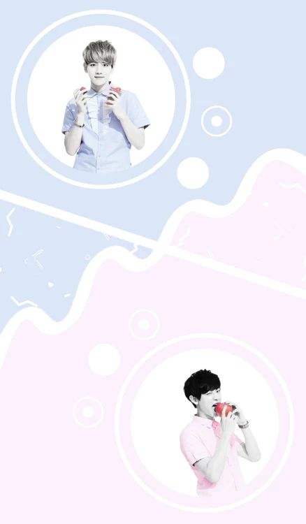 EXO ChanBaek Wallpaper by pastel.ohsehun at Instagram