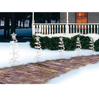 Spiral Tree Pathway Lights 5 Pack At Big Lots