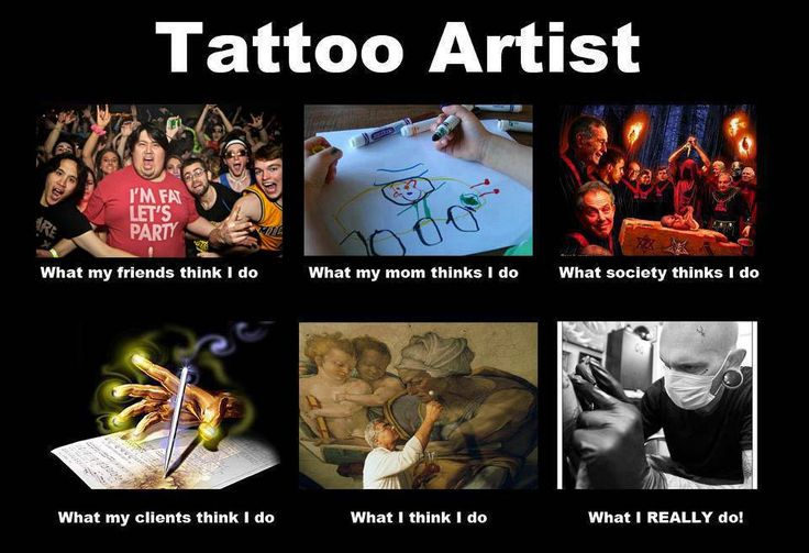 124 best tattoo cartoons ecards memes quotes images for Funny tattoo memes