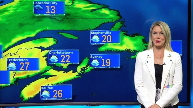 CTV Atlantic's Alyse Hand shares the Maritime weather forecast for August 18.
