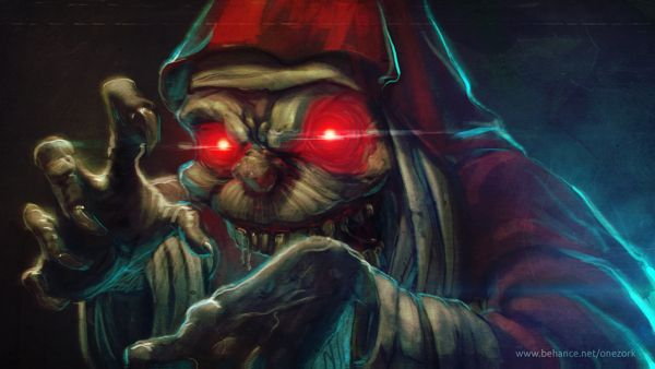 Mumm-Ra fanart by Nestor David Marinero Cervano, via Behance