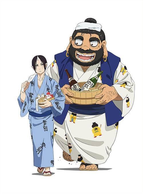 Hoozuki and King Enma.