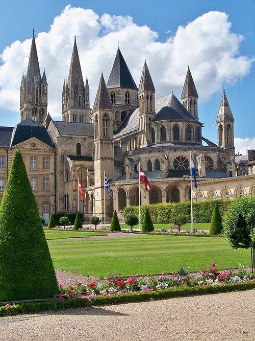 L'abbaye aux Hommes, Caen, Basse-Normandie / France