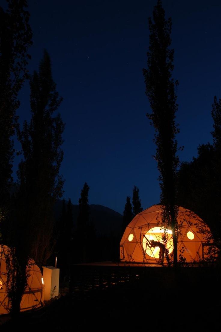 Dome Cabins in Chile   Unique Cabin Rentals Chile