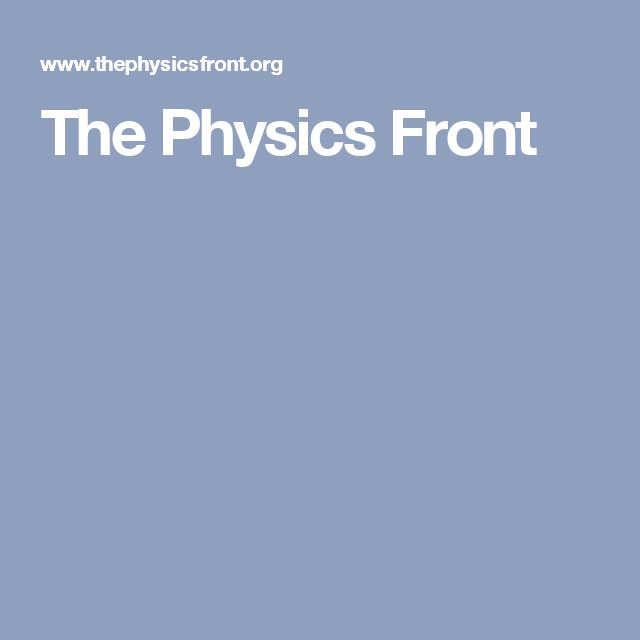58 best classroom ideas images on pinterest physics science and the physics front provides high quality resources tailored for the teaching of high school physics and physical sciences fandeluxe Image collections