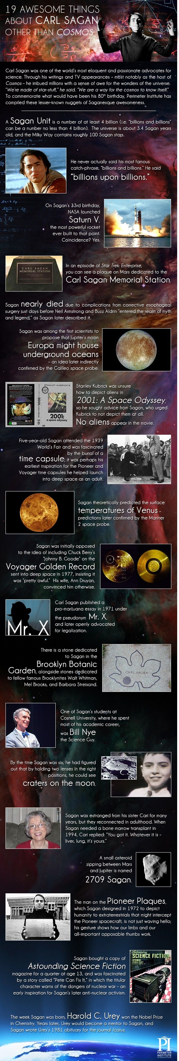 19 Awesome Things about Carl Sagan | Perimeter Institute