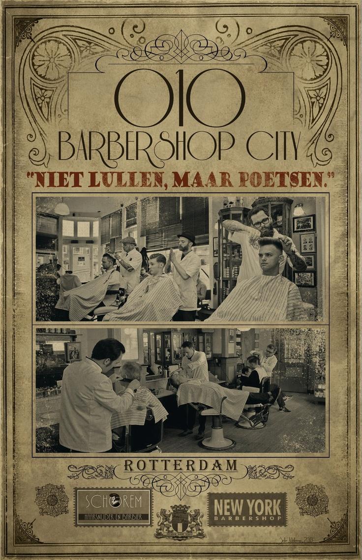 Rotterdam's Barbershop 'Schorem, Haarsnijder en Barbier' #010 #rotterdam #onlyformen