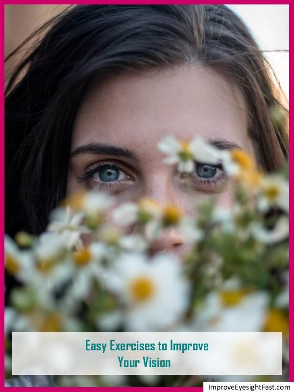 How To Improve Your Vision In 7 Days Eye Sight Improvement Eye Exercises Eyesight Problems