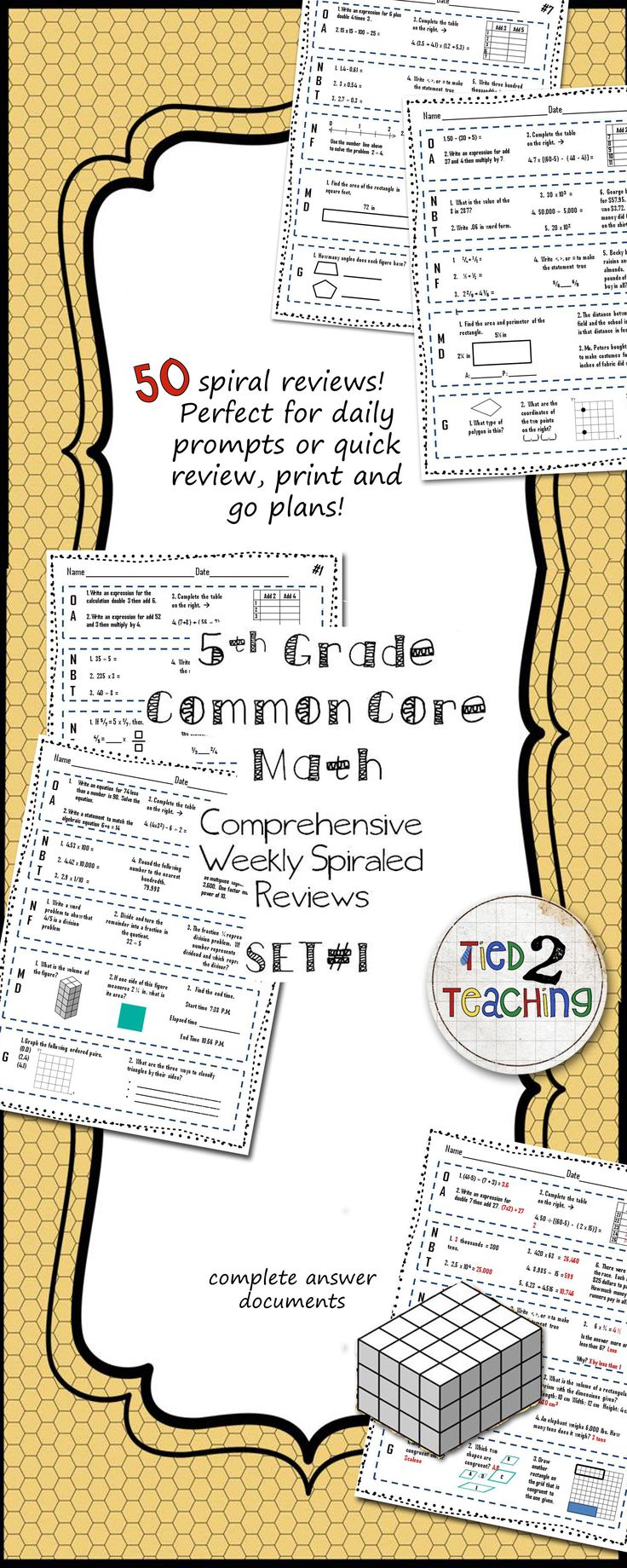 30 Best Images About 5th Grade Worksheets On Pinterest