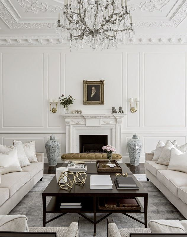 Stylish And Timeless In The Heart Of Londons Exclusive Belgravia District Living Room ModernBeautiful