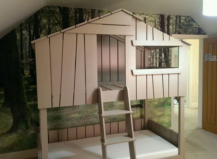 Cuckoo Land Style Children's Tree House Bunk Beds Solid Hand Made Pine Structure in Home, Furniture & DIY | eBay