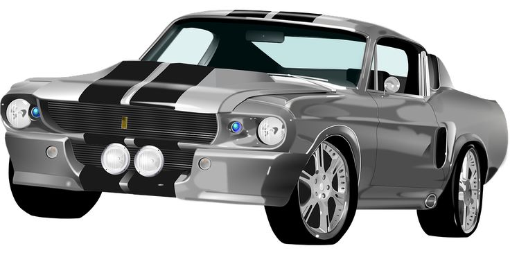 Ford Mustang, Roadster, Sportsvogn, Racerbil