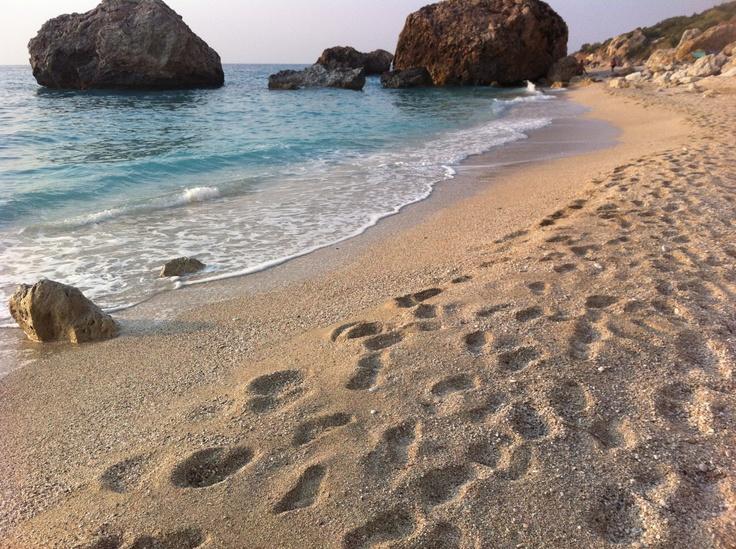 Kalamitsi beach, Lefkada, Greece