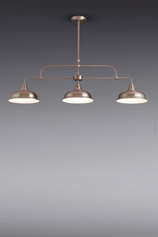 6bc6f9c0c173 Buy Oxford Copper Effect 3 Light Linear Bar from the Next UK online shop