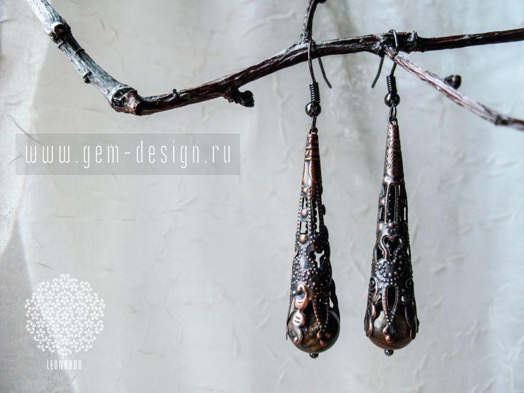 http://gem-design.ru #серьги #украшение #изысканные #ручнаяработа #авторские #leonardo #магазин #зайди на #сайт #gem-design.ru #мода #девушки #женские #handmade #gem