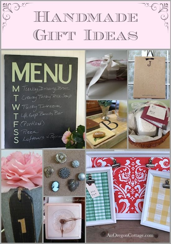 With the end of the Tuesday Garden Party for the season, I thought it would be fun to look towards the holidays and run a series about handmade gifts. I LO