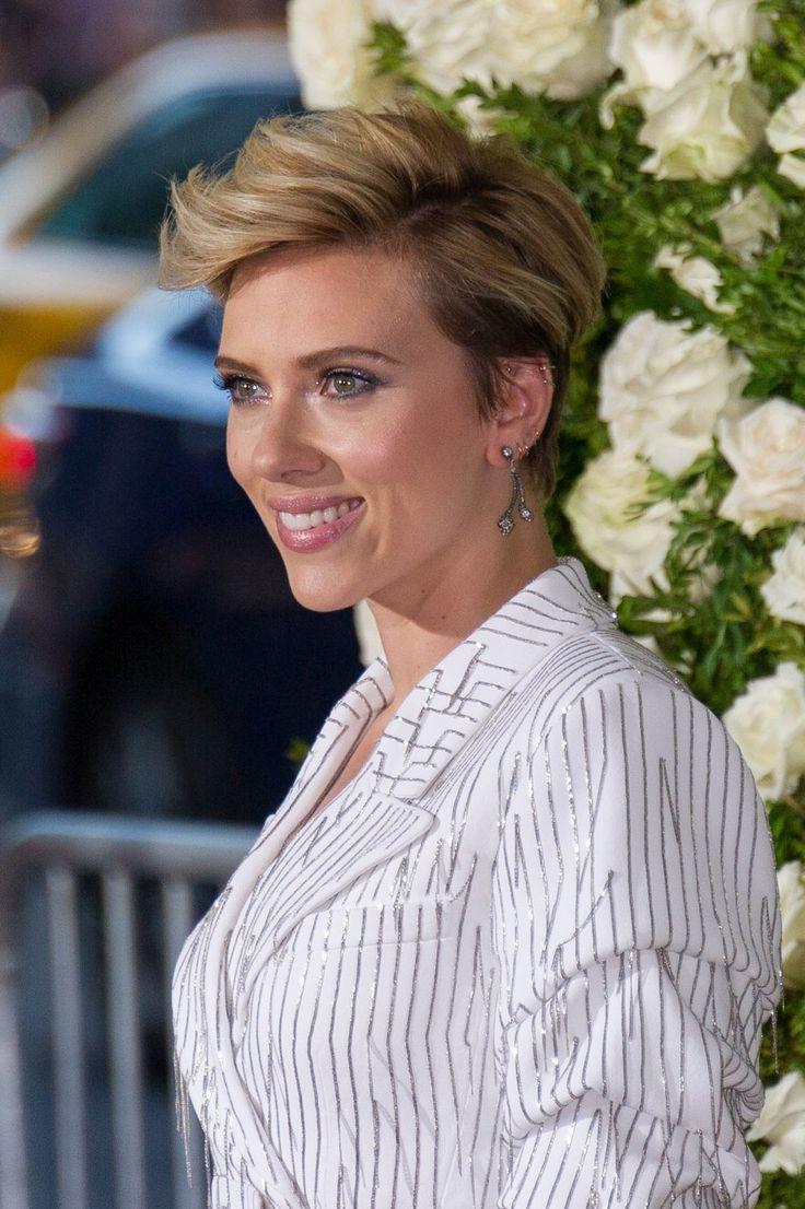 Scarlett Johansson: rostro diamante-triangular