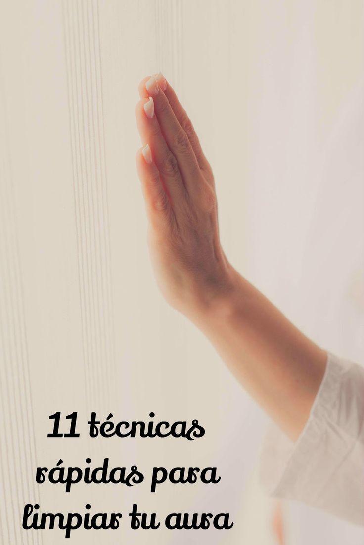 11 técnicas rápidas para limpiar el aura