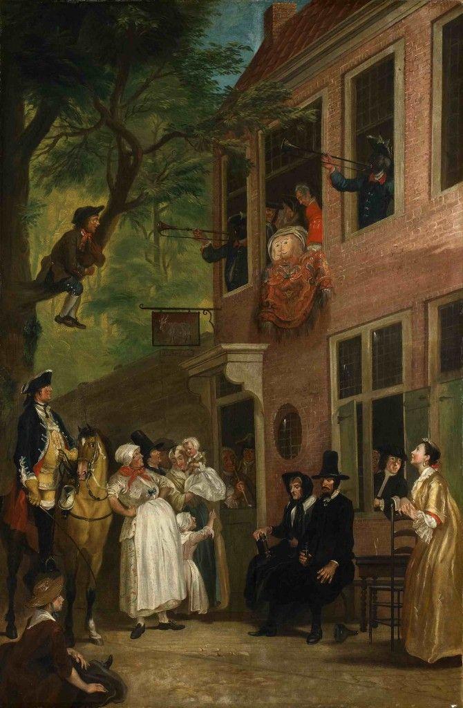 """Op de website van de Stichting Jacob Campo Weyerman is meer informatie te vinden over het leven in de 18e eeuw. Hier vindt men een verwijzing naar de website van de Historische Kring """"De Oranjeboom"""" (http://www.deoranjeboom.nl/)."""