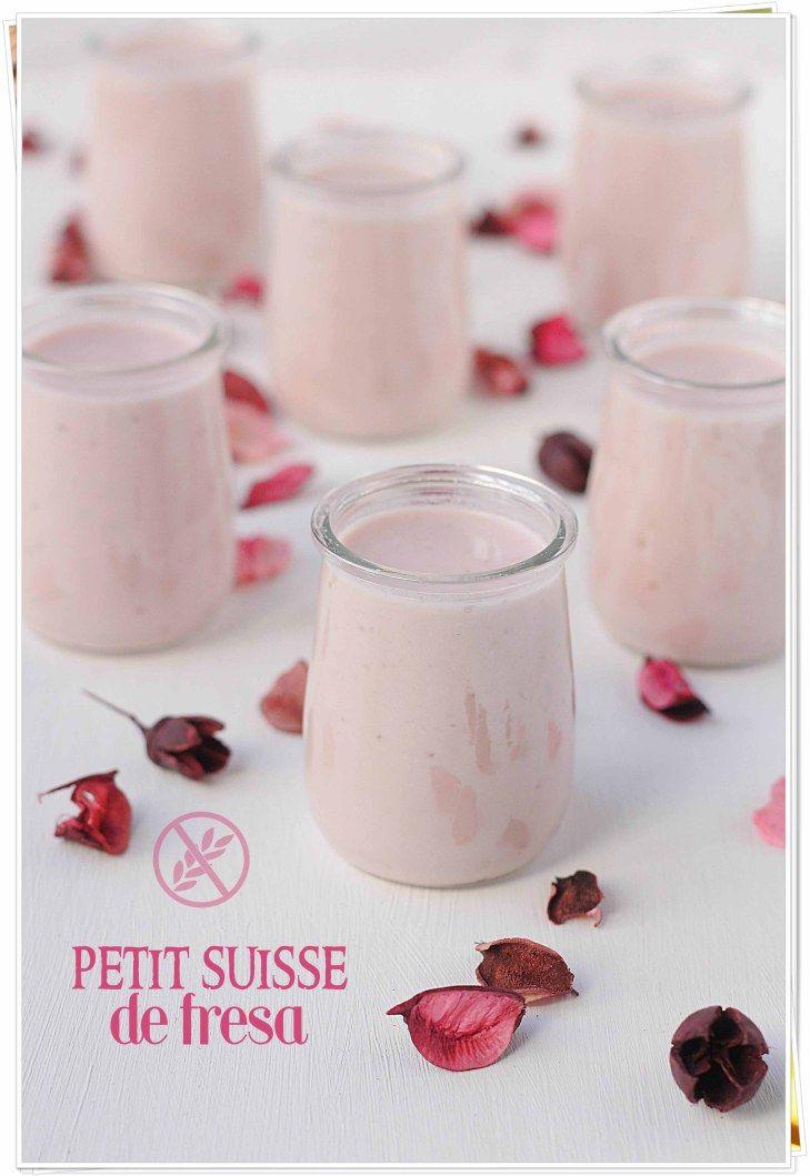 Petit suisse de fresa {by Paula, Con las Zarpas en la Masa}