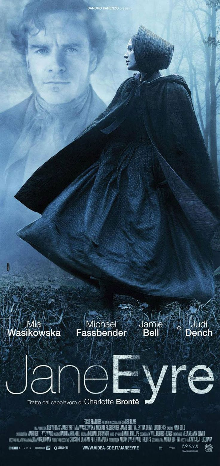 JANE EYRE (2011): A mousy governess who softens the heart of her employer soon discovers that he's hiding a terrible secret.Not a Jane Eyre fan but few literary men qualify for a beast so well as Rochester. :P