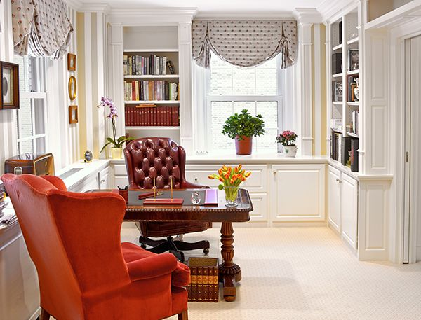 Scully U0026 Scully Interior Design. Sutton Place Residency. New York City.  Library.