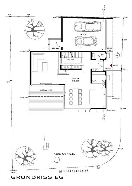 Die besten 25 doppelhaus grundriss ideen auf pinterest for Raumaufteilung einfamilienhaus neubau