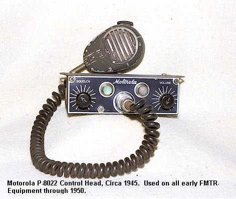 DIRECTORY OF MOTOROLA POLICE RADIO EQUIPMENT 1942-