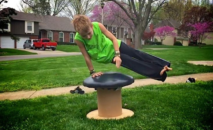 Life Sprinkled With Glitter: DIY Gymnastics Mushroom For Under $10