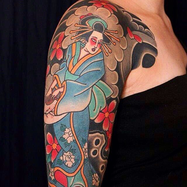120 Classic Geisha Tattoo Designs And Meanings Cool Check
