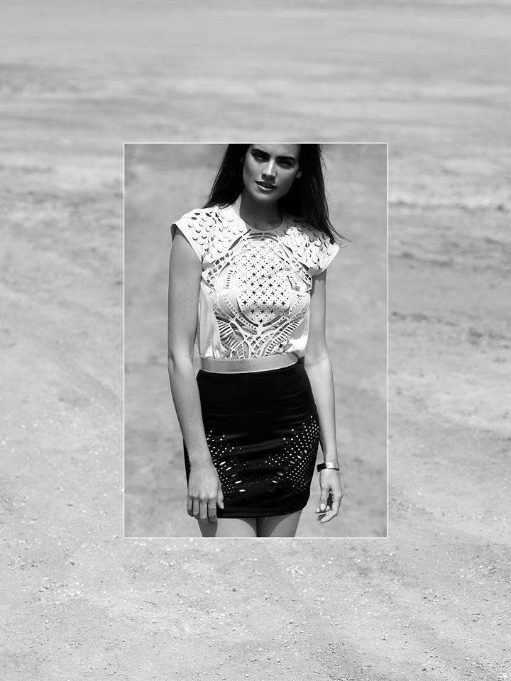 Lookbook for ou SS15 collection / CUTCUUTUR laser cut apparel/ photographer: Christos Tzimas stylist: Yorgos D. Mesimeris