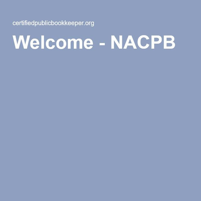 National Association of Certified Bookkeepers (online testing)