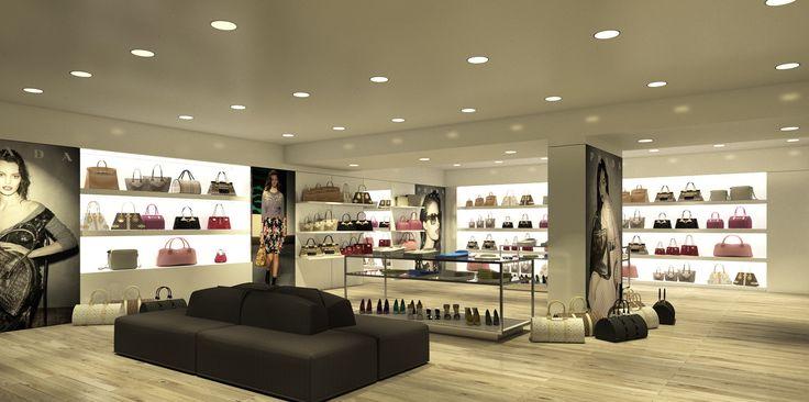 Дизайн интерьера бутика. Программа ArredoCAD