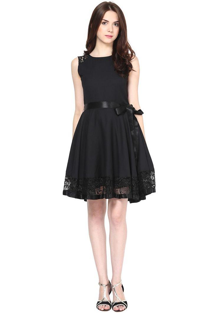 Knit Black Dress @ $57.00. 24% OFF https://www.dollyfashions.com/the-vanca-knit-black-dress-3000649859.html