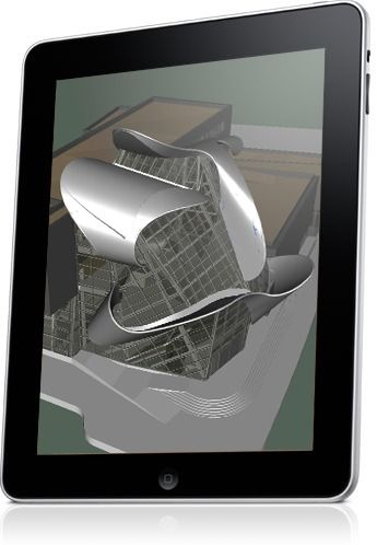 iRhino 3D - There is nothing like showing your designs and ideas in 3-D. Pan, zoom, and rotate with a tap or drag of your finger.