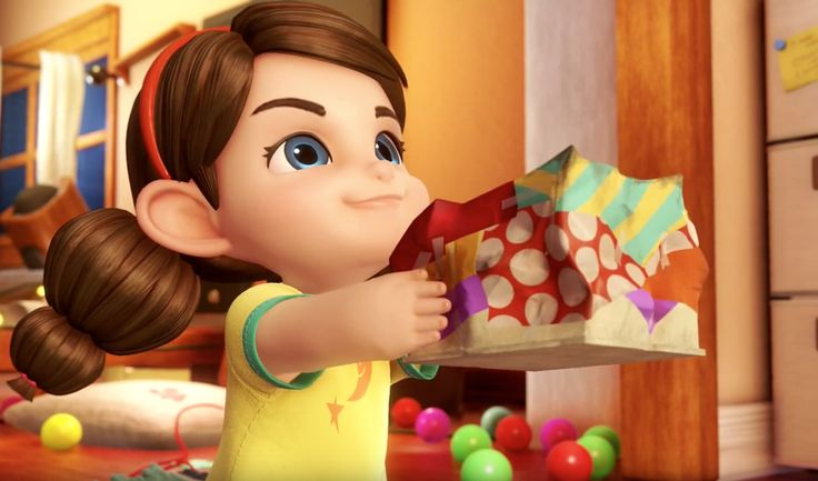 Ce film d'animation très créatif raconte l'histoire d'une petite fille qui s'apprête à offrir un cadeau de sa fabrication à ses parents mais ceux-ci se disputent. Son imagination va lui porter secours. (papapositive.fr)