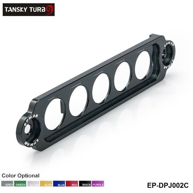 TANSKY - EPMAN RACING ALUMINUM BATTERY TIE DOWN FOR HONDA Civic SI 02-05 NEW GUNMETAL Replace for JDM STYLE EP-DPJ002C