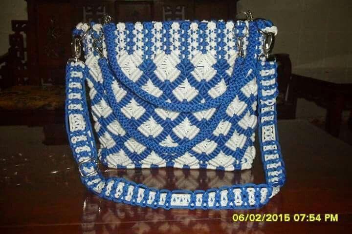 Makrame çanta